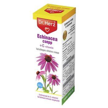 Dr. Herz Echinacea csepp C-vitaminnal - 50ml