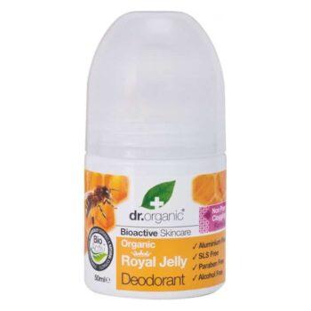 Dr. Organic Bio Méhpempő golyós dezodor - 50ml