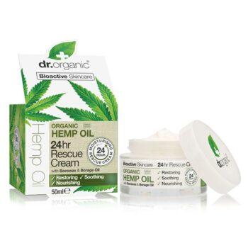 Dr. Organic kendermagolaj 24 órás elsősegély krém - 50 ml