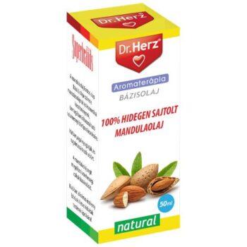 Dr. Herz 100% Hidegen sajtolt Mandulaolaj cseppek - 50ml
