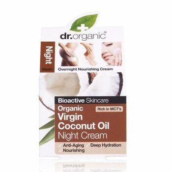 Dr. Organic bio Kókuszolaj éjszakai krém - 50 ml