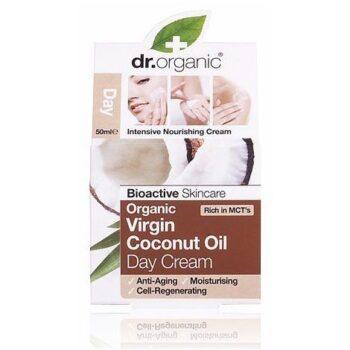 Dr. Organic bio Kókuszolaj nappali krém - 50 ml