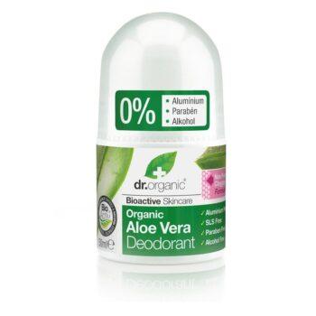 Dr. Organic bio aloe vera golyós dezodor - 50ml
