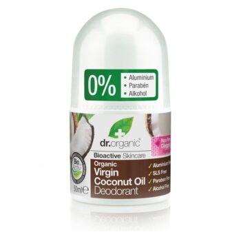 Dr. Organic bio kókuszolaj golyós dezodor - 50 ml