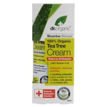 Dr. Organic bio teafa antiszeptikus krém - 50ml