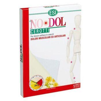 ESI No-Dol 24 órás Fájdalomcsillapító és görcsoldó hatású tapasz - 5 db