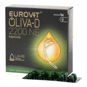 Eurovit Oliva-D 2200NE kapszula - 60db