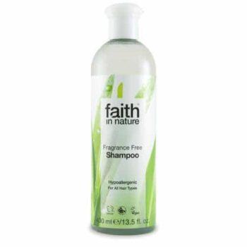 Faith in Nature Fragrance Free - illatmentes sampon - 400ml