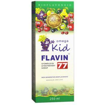 Flavin77 Omega Kid szirup - 250ml