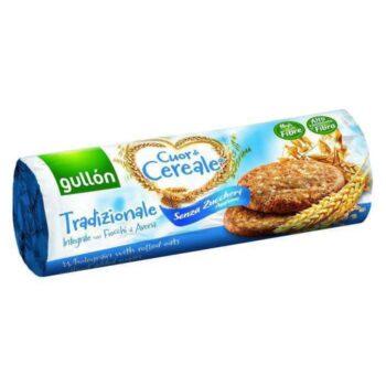 Gullón élelmi rostban gazdag cukormentes keksz (kék) - 280g
