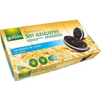 Gullón Cukormentes kakaós Oreo keksz, krém töltelékkel - 210g