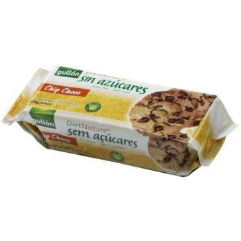 Gullón keksz csokidarbokkal édesítőszerrel - 125g