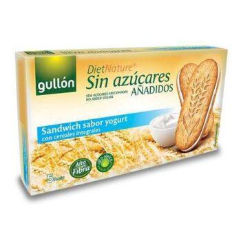 Gullón diabetikus szendvicskeksz joghurtos - 220g