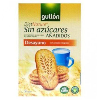 Gullón keksz teljes kiörlésű gabonával - 216g