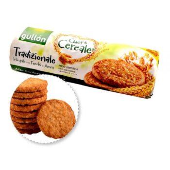 Gullón élelmi rostban gazdag keksz (zöld) - 280g
