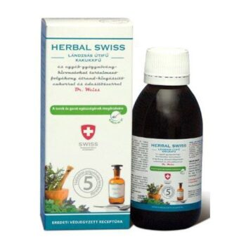 Herbal Swiss felnőtt köhögés elleni szirup - 150ml