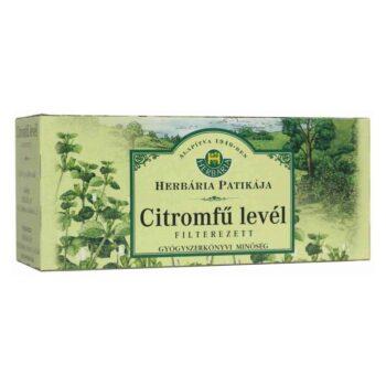 Herbária citromfű levél tea - 25x1g filter/doboz