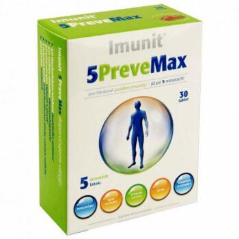 Imunit 5 Prevemax Béta-glükán és alga-kivonat tartalmú tabletta - 30db