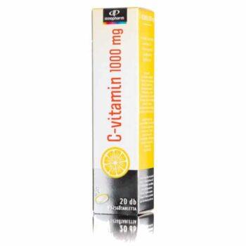 InnoPharm C-vitamin 1000mg pezsgőtabletta - 20db