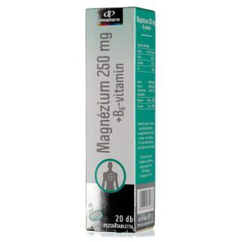 InnoPharm Magnézium B6-vitamin pezsgőtabletta - 20db