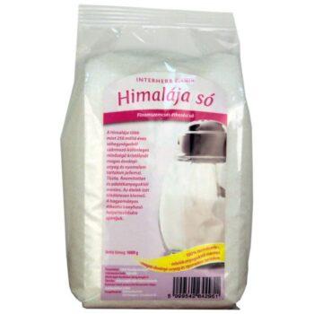 Interherb Gurman Himalája fehér finom só - 1000 g