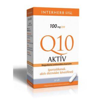 Interherb Q10 aktív kapszula - 30db