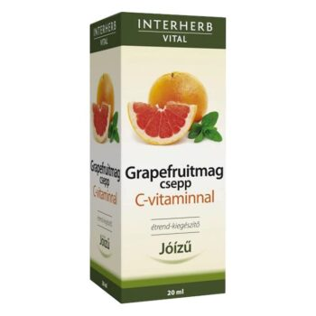 Interherb Grapefruitmag csepp C-vitaminnal - 20ml