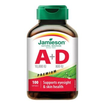 Jamieson A- és D-Vitamin Forte lágyzselatin kapszula - 100db