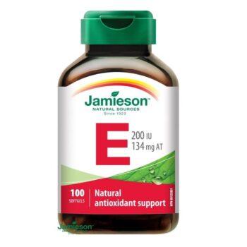 Jamieson E-vitamin 200IU kapszula - 100db