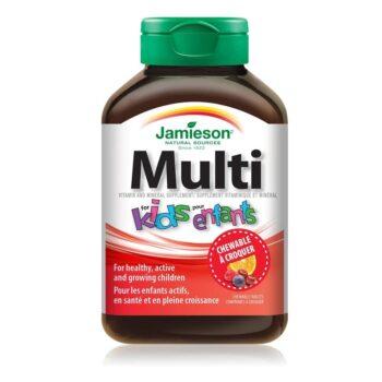 Jamieson Multi Kids + Vas rágótabletta - 60db