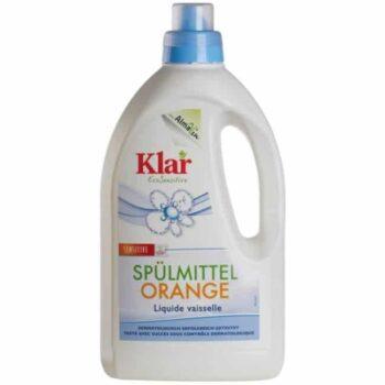 Klar ÖKO-szenzitív narancsolajos mosogatószer - 1500 ml