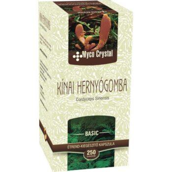 Myco Crystal Kínai hernyógomba - Cordyceps  gyógygomba - 250 db