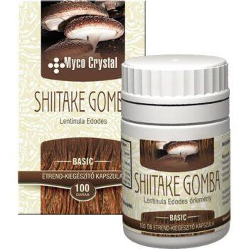 Myco Crystal Shiitake gyógygomba - 100db