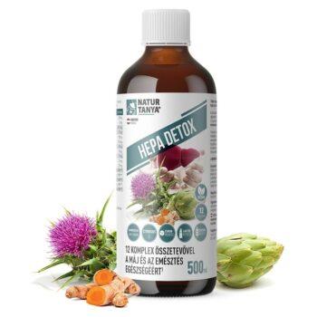 Natur Tanya Hepa Detox máj és emésztés támogató komplex ital - 500ml