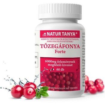 Natur Tanya Szerves Tőzegáfonya Forte tabletta - 60db