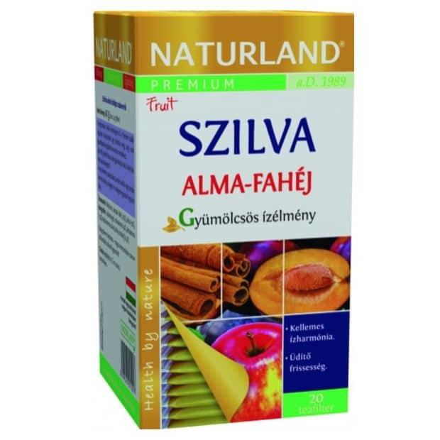 Naturland Prémium Szilvás-Almás-Fahéjas teakeverék - 20 filter