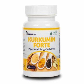 Netamin Kurkumin Forte kapszula - 60db