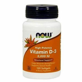 Now D3-vitamin 2000NE kapszula - 120db