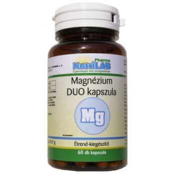 Nutrilab Magnézium DUO kapszula - 60db