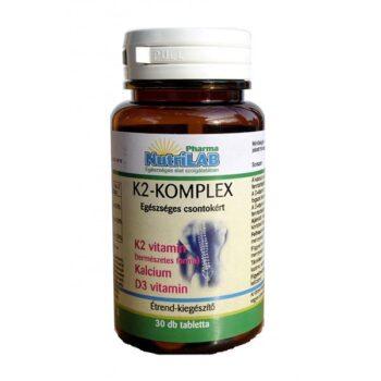 Nutrilab K2-komplex tabletta - 30db