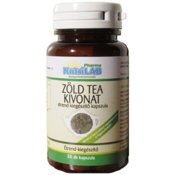 Nutrilab Zöld tea kivonat kapszula - 30db