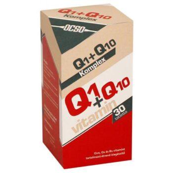 OCSO Q10+Q1 koenzim - 30 db tabletta