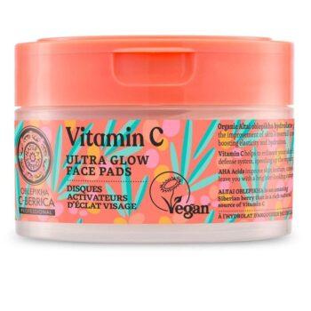 Oblepikha C-Berrica ''Ultra ragyogás'' arctisztító korongok C-vitaminnal - 20db