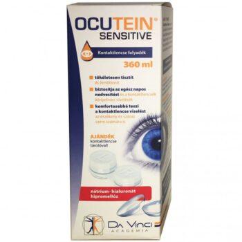 Ocutein Sensitive kontaktlencse folyadék - 360ml