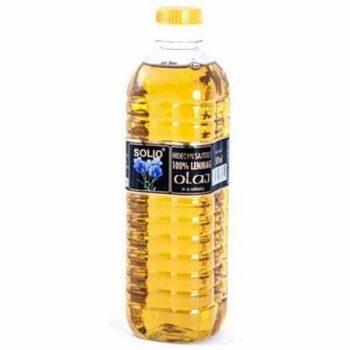 Solio Hidegen sajtolt lenmag olaj - 500 ml