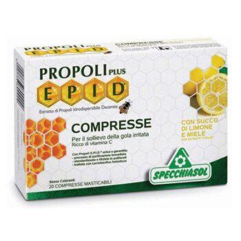 Specchiasol EPID Propolisz szopogatós tabletta mézes-citromos ízben - 20 db tabletta