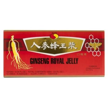 Sun Moon Big Star Ginseng (Ginzeng) Royal Jelly ampulla - 10x10ml