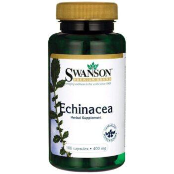 Swanson Bíbor kasvirág - Echinacea kivonat kapszula - 100db