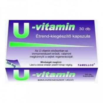 Tawellco U-vitamin 300mg kapszula - 30db