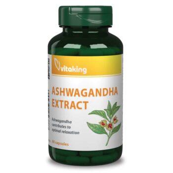 Vitaking Ashwagandha kivonat kapszula - 60db